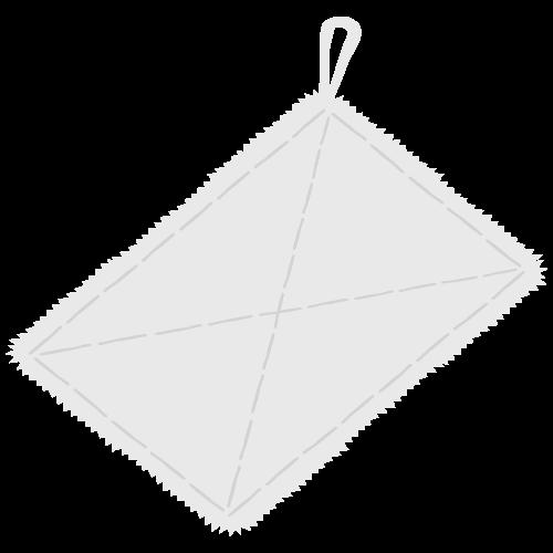 ぞうきん(雑巾)の無料アイコン・イラスト素材