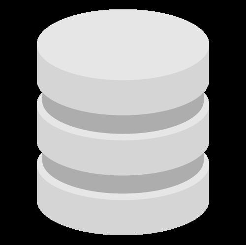 データベース・ストレージの無料アイコン・イラスト素材
