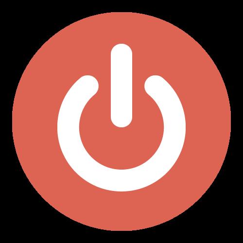 電源・起動ボタンの無料アイコン・イラスト素材