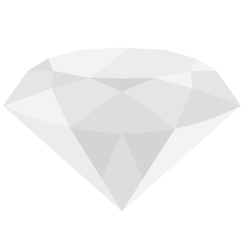 ダイヤモンドのアイコン・イラスト
