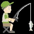 釣り人の無料アイコン・イラスト素材