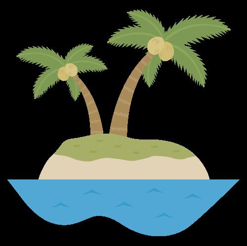 島の無料アイコン・イラスト素材