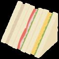 サンドイッチの無料アイコン・イラスト素材