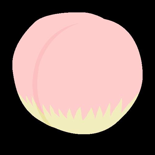 桃の無料アイコン・イラスト素材
