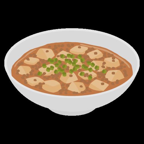 麻婆豆腐の無料アイコン・イラスト素材