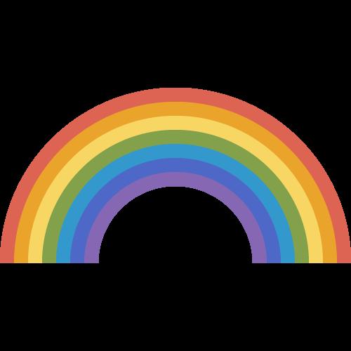 虹の無料アイコン・イラスト素材
