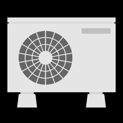 室外機の無料アイコン・イラスト素材