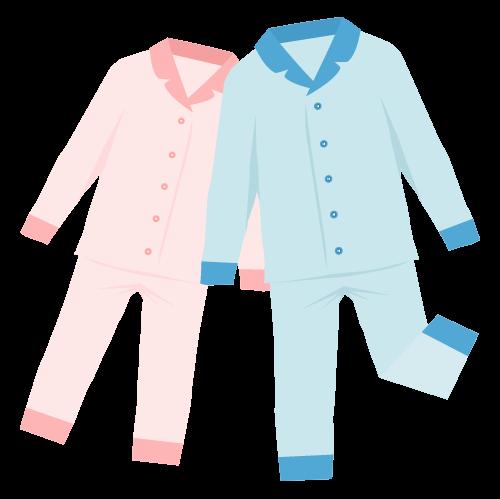 パジャマの無料アイコン・イラスト素材