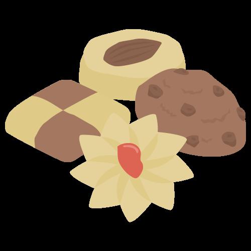 クッキーの無料アイコン・イラスト素材