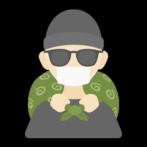 泥棒の無料アイコン・イラスト素材