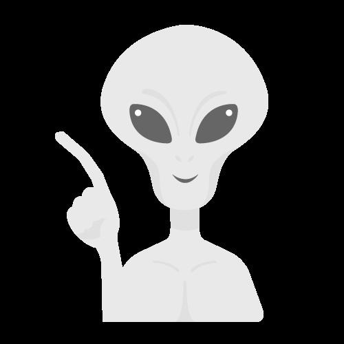 宇宙人の無料アイコン・イラスト素材