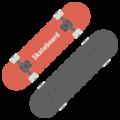 スケートボードの無料アイコン・イラスト素材
