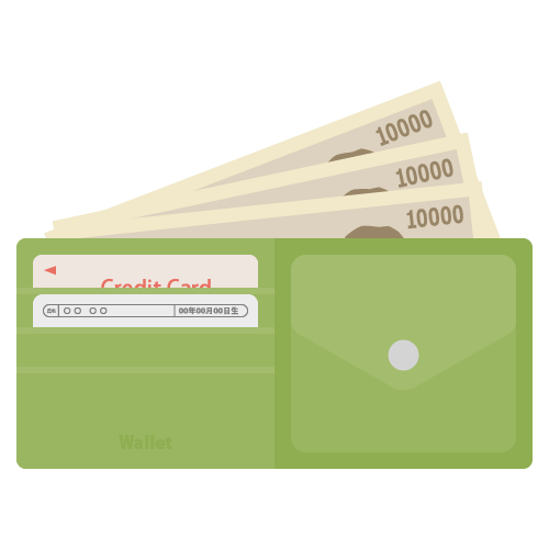 財布の無料アイコン・イラスト素材