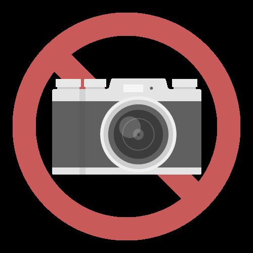 撮影禁止の無料アイコン・イラスト素材