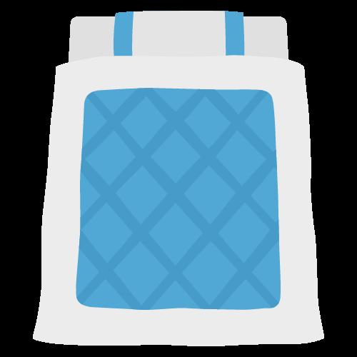 布団の無料アイコン・イラスト素材
