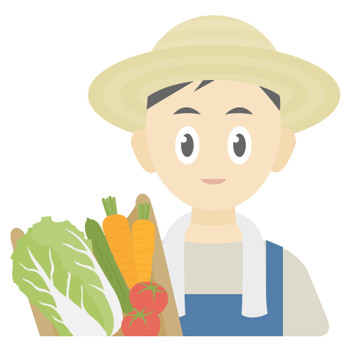農家の無料アイコン・イラスト素材