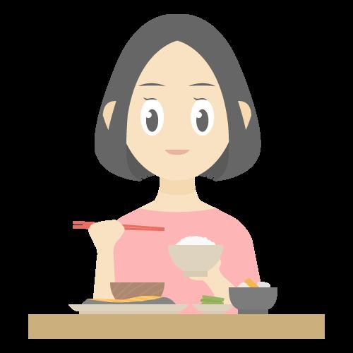 食事の無料アイコン・イラスト素材