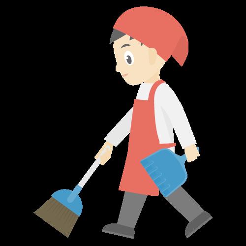 掃除の無料アイコン・イラスト素材