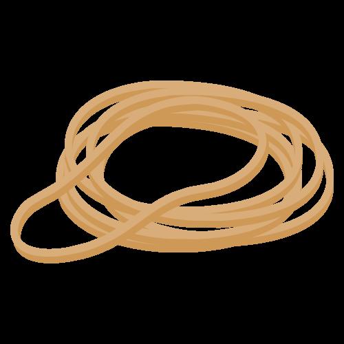 輪ゴムの無料アイコン・イラスト素材